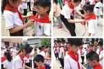 榮河小學:迎六一學先鋒   讓紅領巾更鮮艷