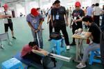 泗县2020年初中学业水平理科实验操作和体育与健康学科考试顺利进行