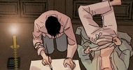 漫画《野画集》:小画家为什么放弃逃跑了,未必是因为动心了