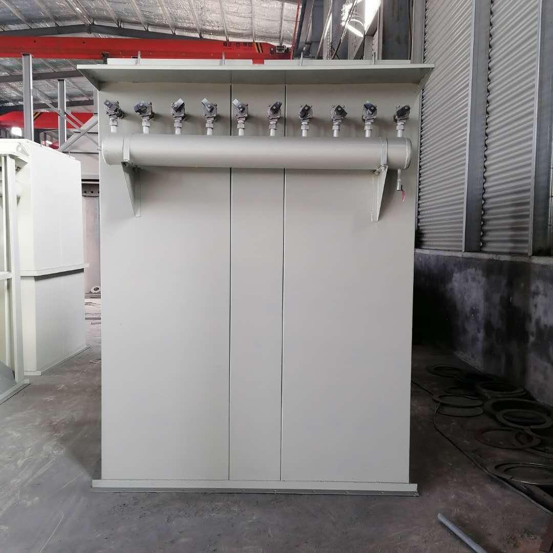 简述机械回转反吹扁袋式除尘器的结构及工作原理