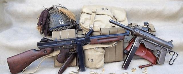 二战后期, 美国为何会选择M3冲锋枪, 而不是继