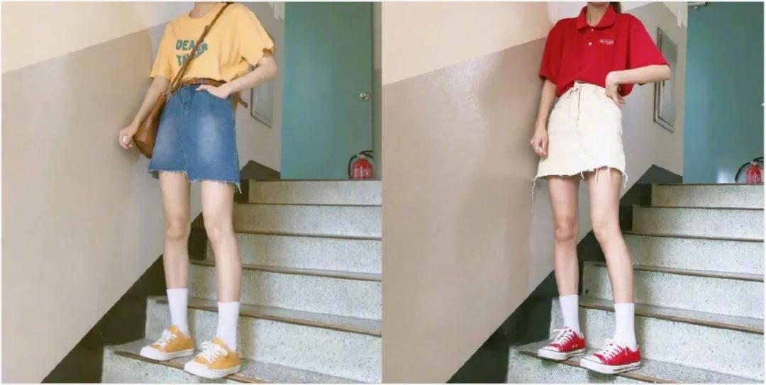 原创             俏皮又性感,夏季怎么穿搭出少女感?试试减龄的学院风吧