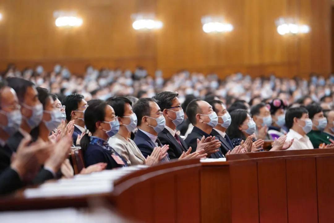 全国政协十三届三次会议闭幕会现场.