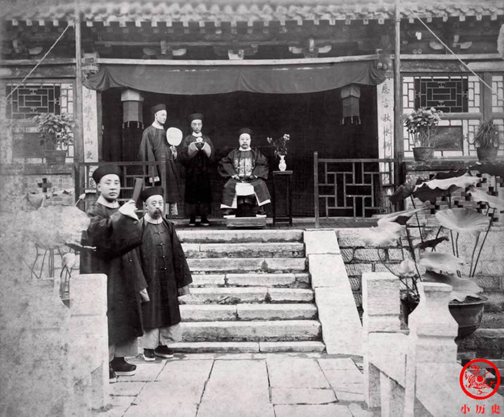 老照片:晚清的文臣武将,有知县、提督,也有巡抚、总督