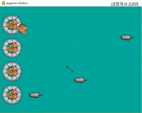 Python小游戏项目,兔子猎手教程,效果以及源码文件 第20张