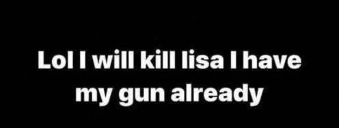 原创 继Lisa后,组合队友金智妮也遭死亡威胁,对方直接晒出手枪照片