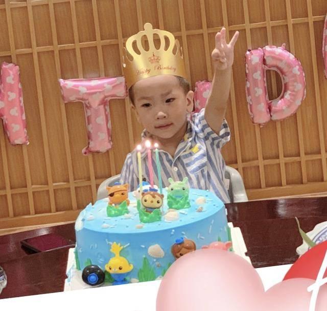 原创 金巧巧为3岁儿子庆生,小太阳呆萌可爱,不见总裁老公于冬现身