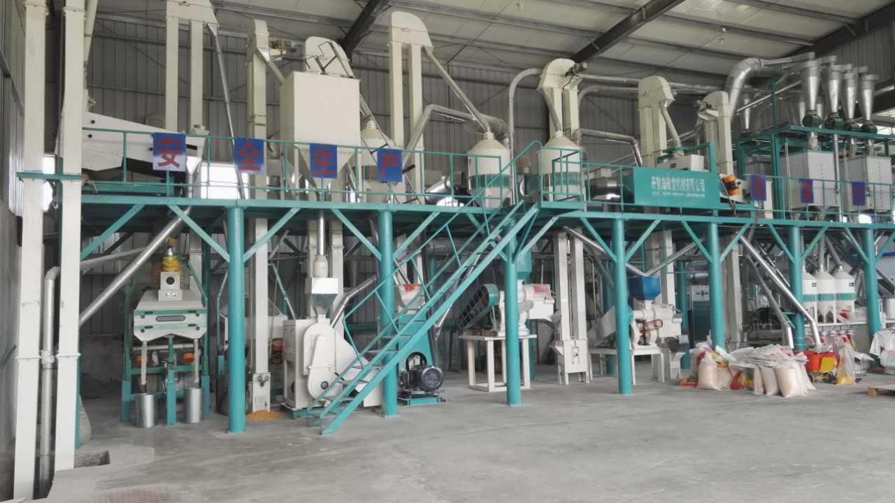 制造商需要不断改进玉米加工设备和技术 以提高生产效率...