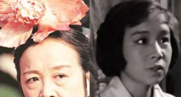 唐伯虎▲华夫人高贵,石榴姐温婉,老戏骨年轻时的照片