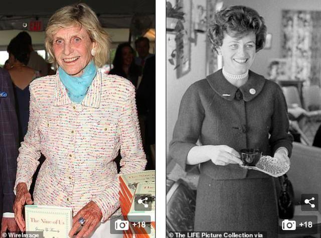 原创 真人间富贵花,肯尼迪总统亲妹逝世,爱穿山寨套装,一生乘风破浪