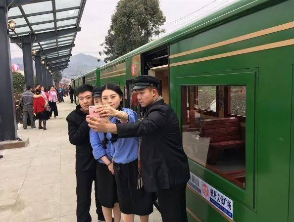 原创             彭州湔江河谷旅游度假观光小火车恢复运营或将以全新面貌惊艳亮相