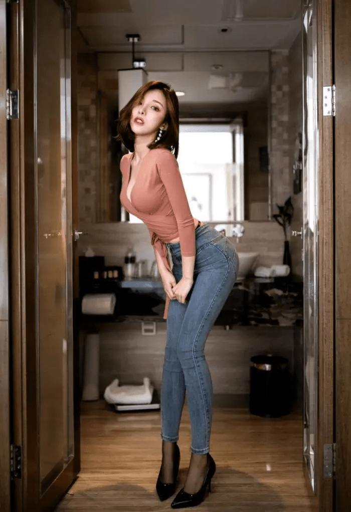 """好马配好鞍,穿""""蜜桃裤""""大玩性感的女生,身材好真不是开玩笑 减肥方法 第7张"""