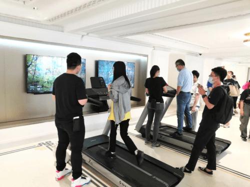 舒华X6i豪华智能跑步机入驻华为全球最大旗舰店 国内新闻 第4张