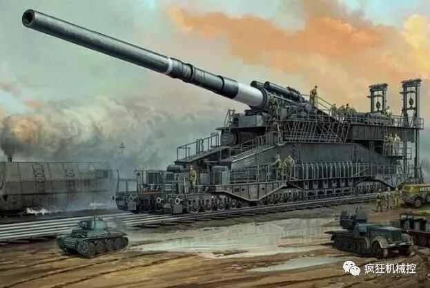德国巨炮重1350吨,需用250人组装三天,世界第一大炮有多牛_德国新闻_德国中文网