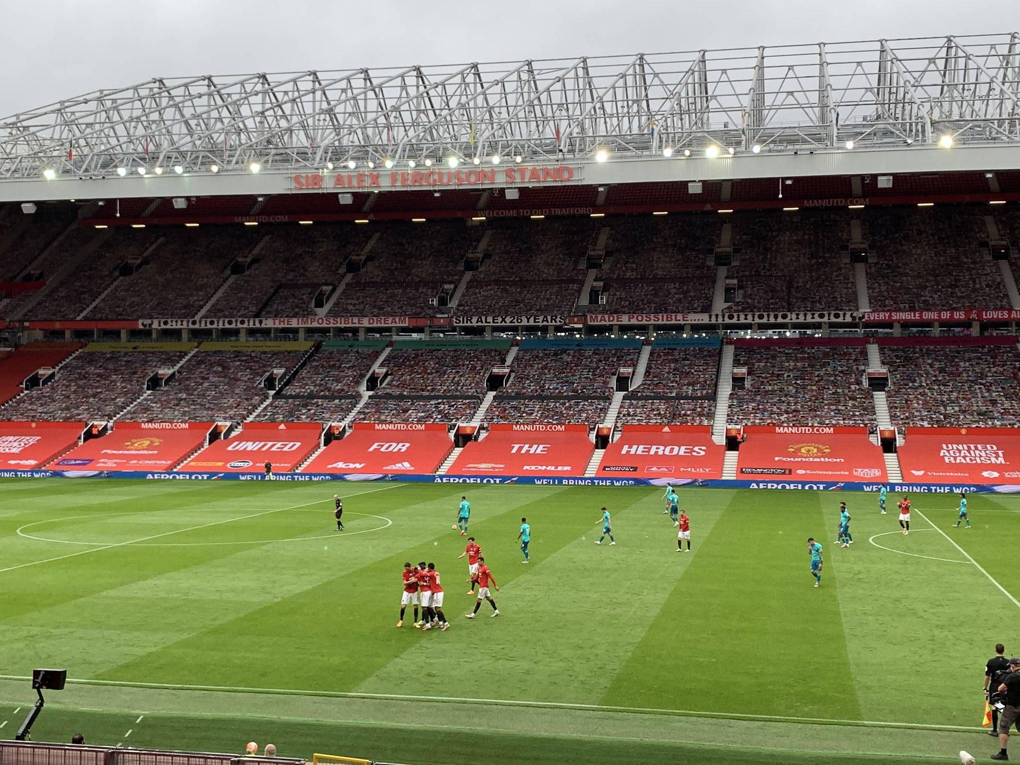 半场-拉什福德破门马夏尔世界波 曼联3-1伯恩茅斯
