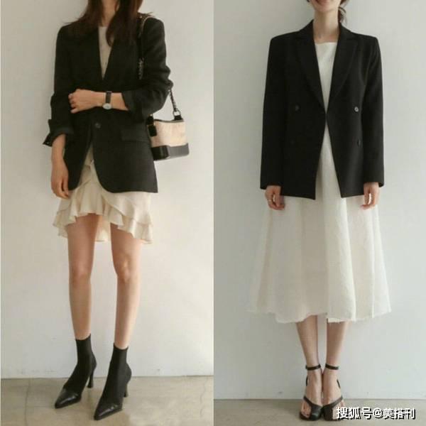 优雅知性的上班搭配,适合25岁以上的女性穿,工作也要保持美丽
