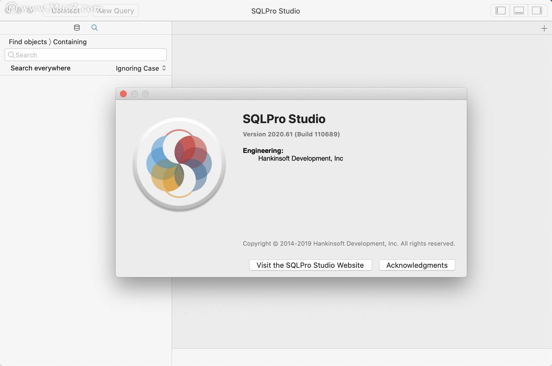 Mac的SQLPro Studio(数据库管理员)