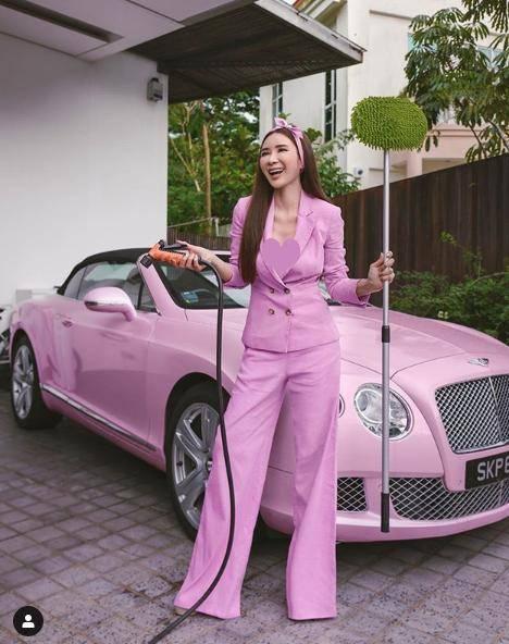 原创 东南亚第一名媛命真好,靠离婚每月躺赚两百万,出门要背3个LV包