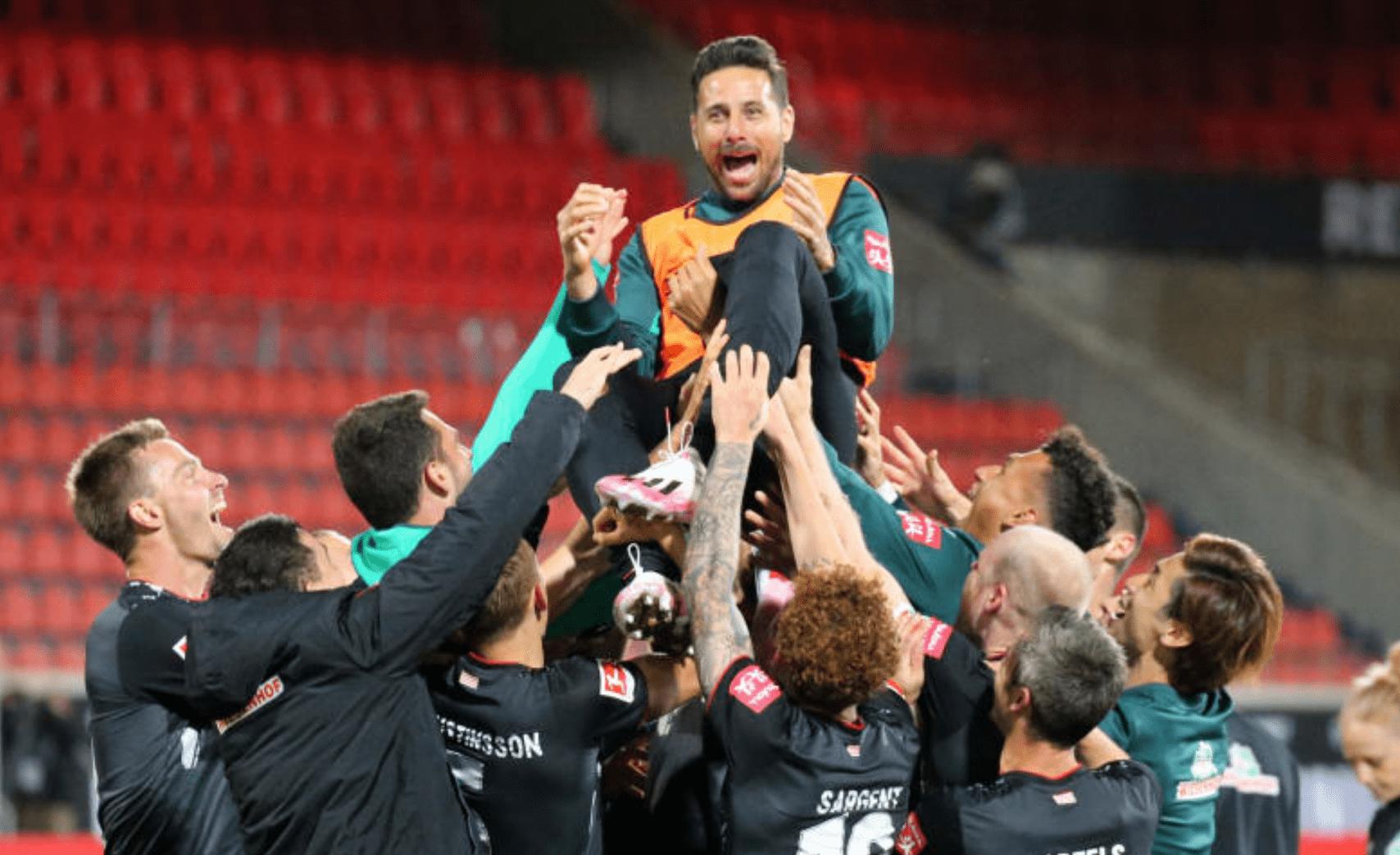 比赛日:塞维利亚1-0埃瓦尔 不来梅2-2平惊险保级