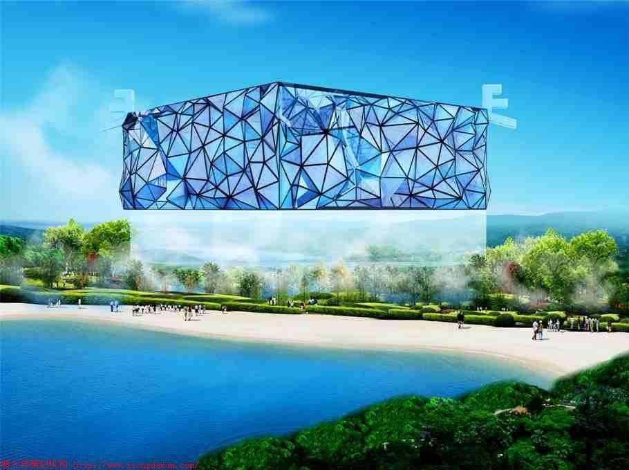 旅游营销公司最佳创意建筑设计:漂浮的