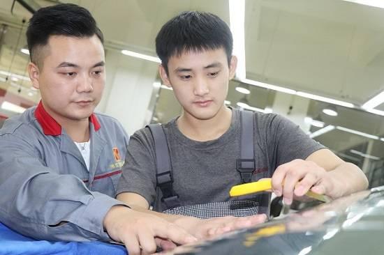 汽车美容行业如何?高端汽车院校上海博世汽修