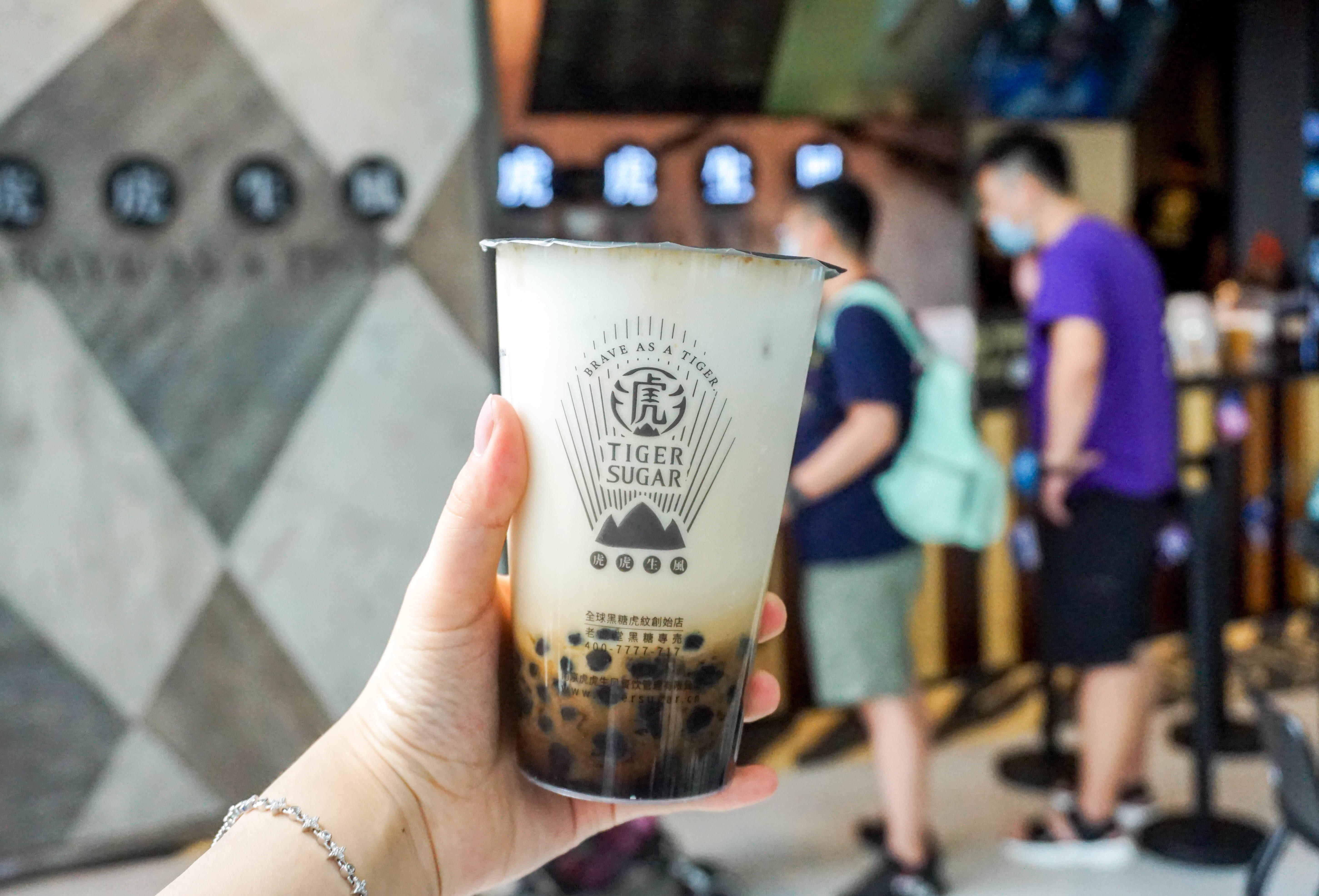 竞争激烈的茶饮赛道里,老虎堂异军突起,掀起新式奶茶新潮流 (图2)