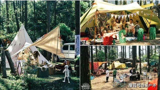 从露营到glamping露营,这种露营风格正在流行……