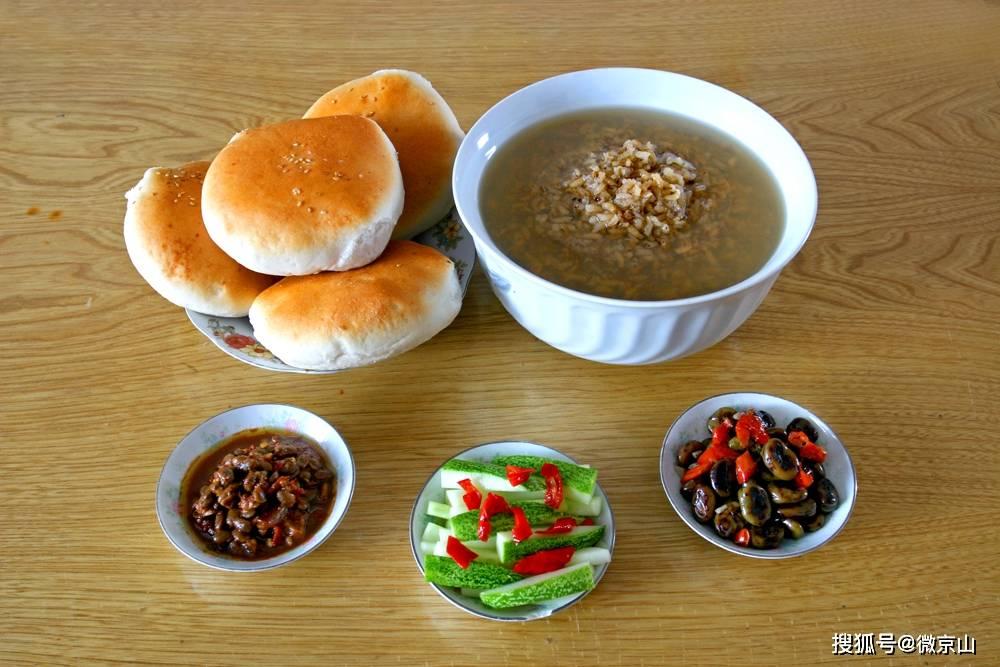 京山特产稀米茶  一碗浓浓的乡愁