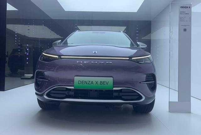 奔驰光环下的纯电动,腾狮X兼顾性能和豪华,28.98万起