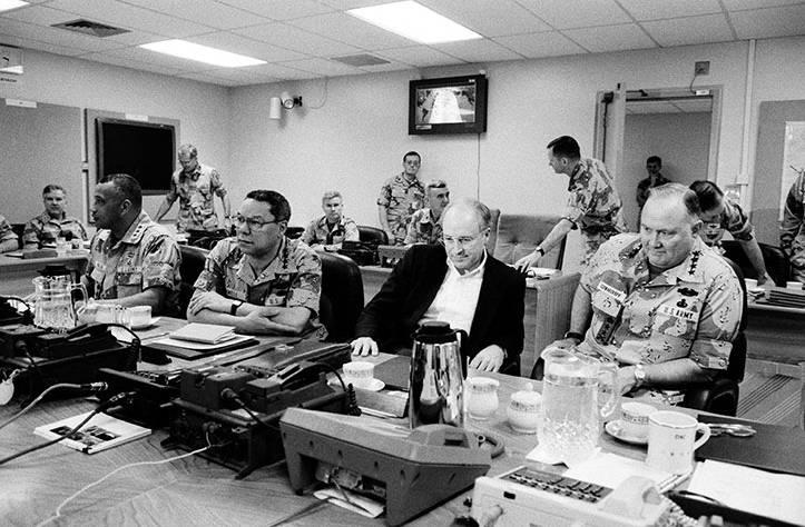 老照片盘点1990年的海湾战争