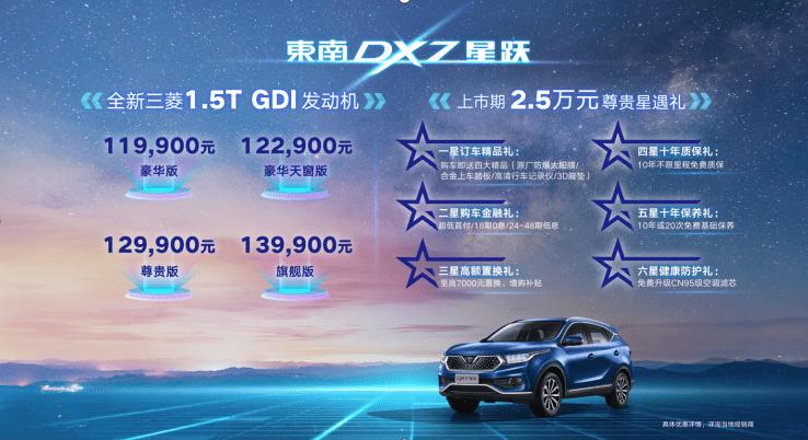"""本来我更愿意称之为""""三菱信使"""",东南DX7之星跳进了紧凑型SUV市场"""