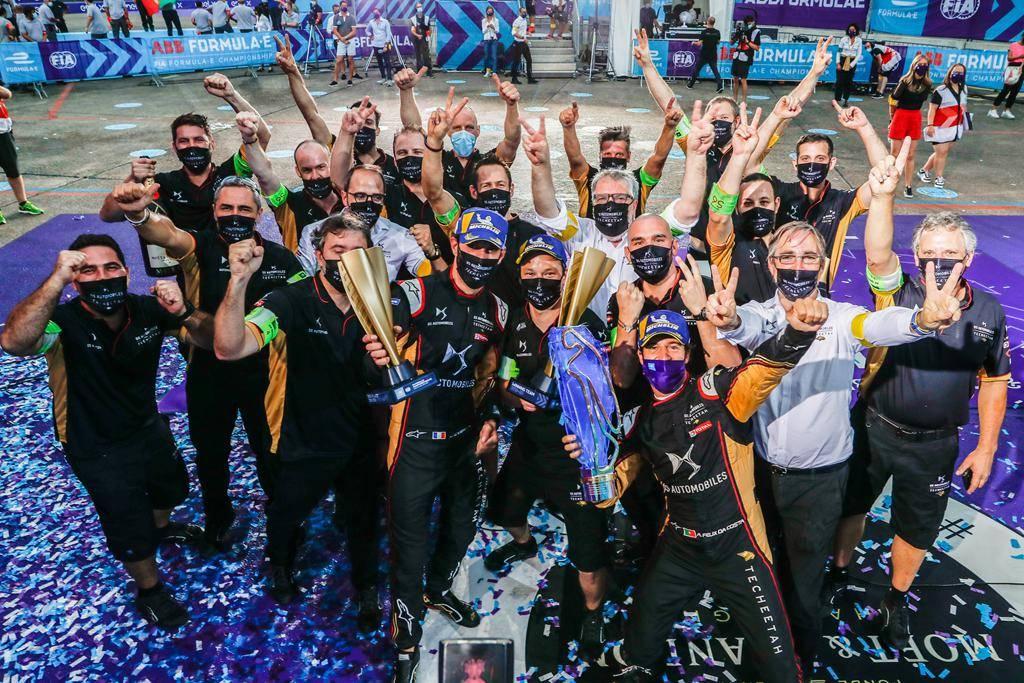 中国车队卫冕FE电动方程式总冠军 DS钛麒成就赛季双冠王