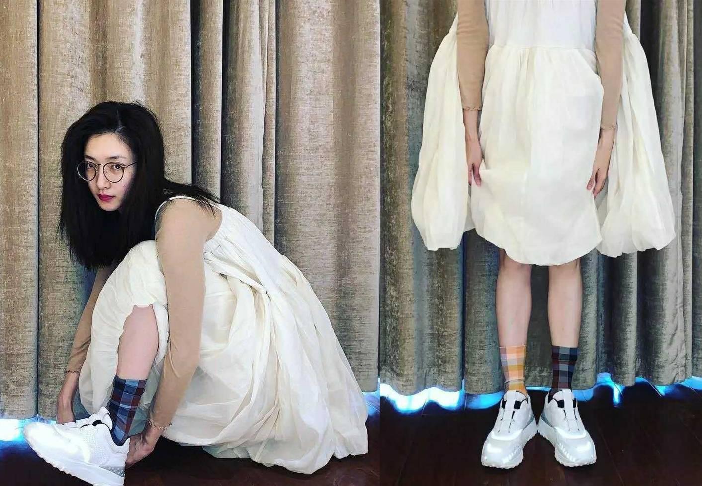 """赵丽颖刘诗诗都爱的""""牛奶裙"""",搭配这些鞋子,轻松美爆整个夏天"""