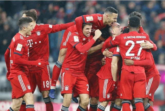 欧冠半决赛赔率:拜仁强势晋级 德甲会师决赛?