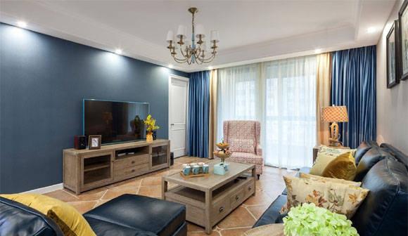 预算不高又不想家里装修太简单,选简约美式风格设计,肯定错不了