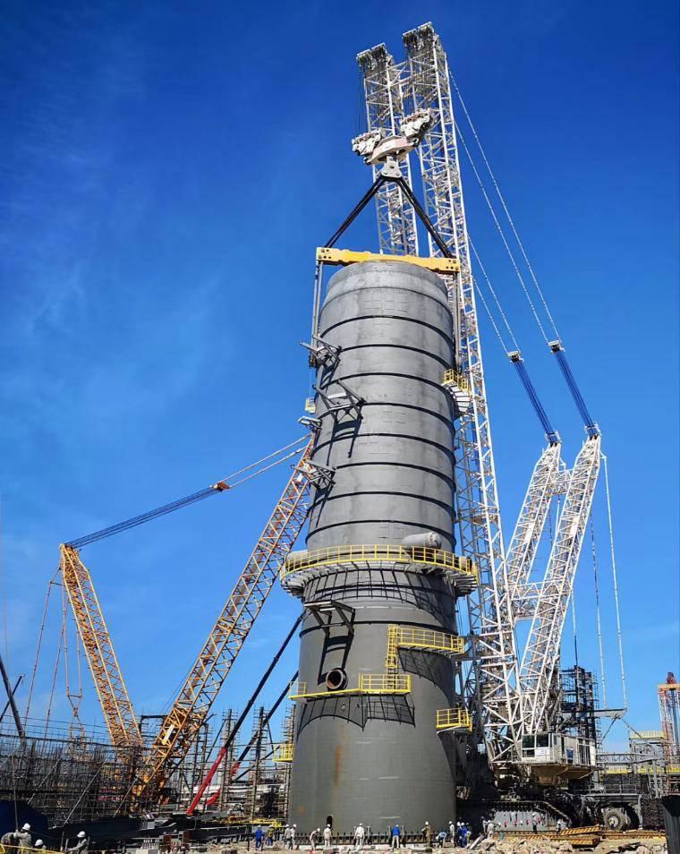 中国石化船务公司负责浙江中石化芳烃装