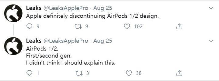 消息称AirPods 3将有新设计,苹果AirPods还有隐藏大招?