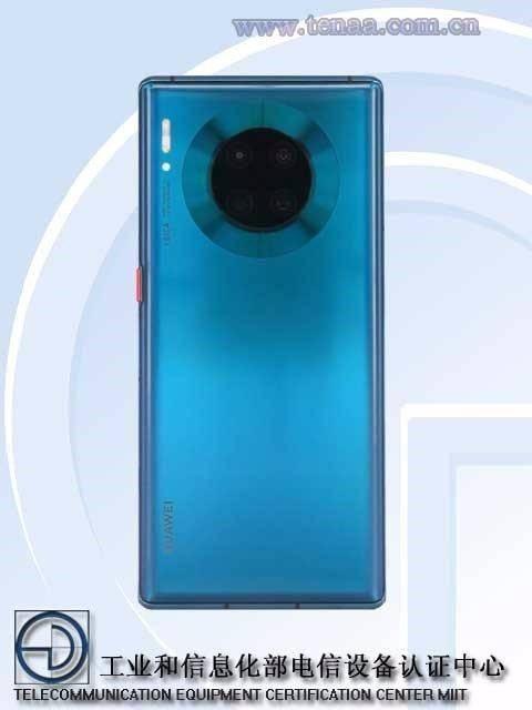 原创            华为又有旗舰新机入网 外观与Mate30 Pro一致 相机参数变化大