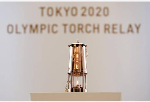 奥运圣火在日本奥林匹克博物馆亮相 展览为期两个月