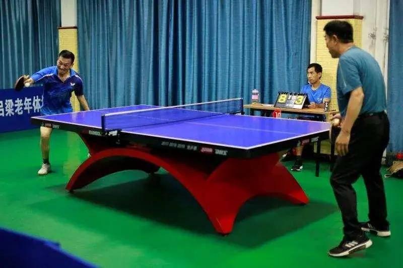 吕梁市举行全省第六届老健会乒乓球运发动选拨赛_英亚体育app(图1)