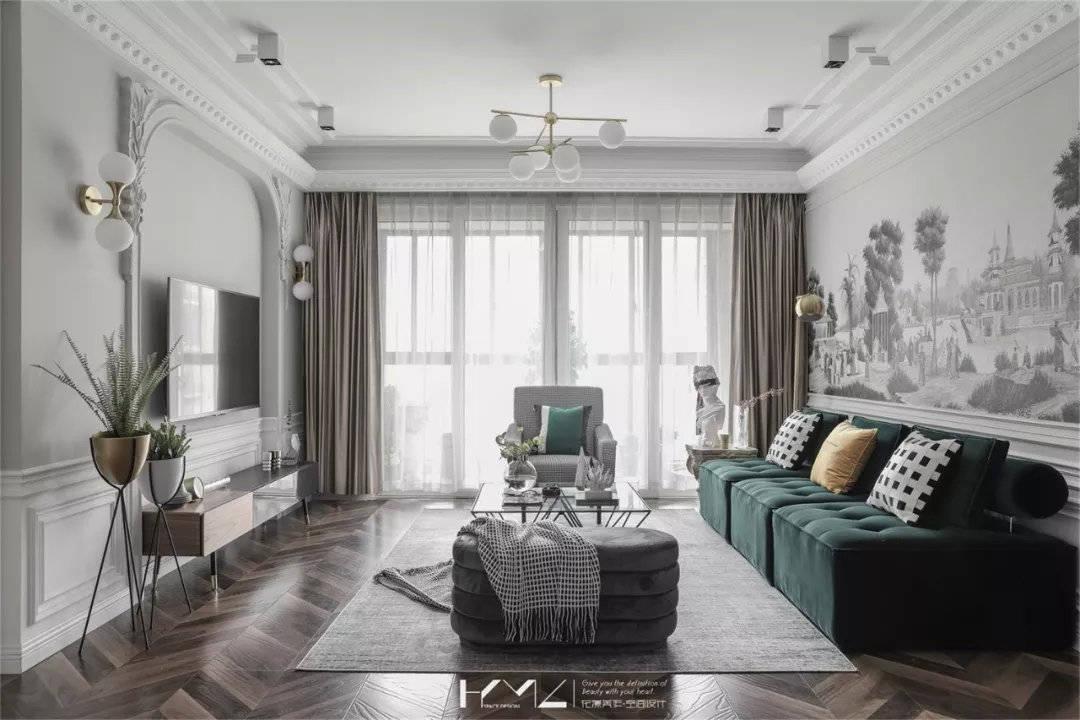 沙发这样摆,客厅颜值翻倍