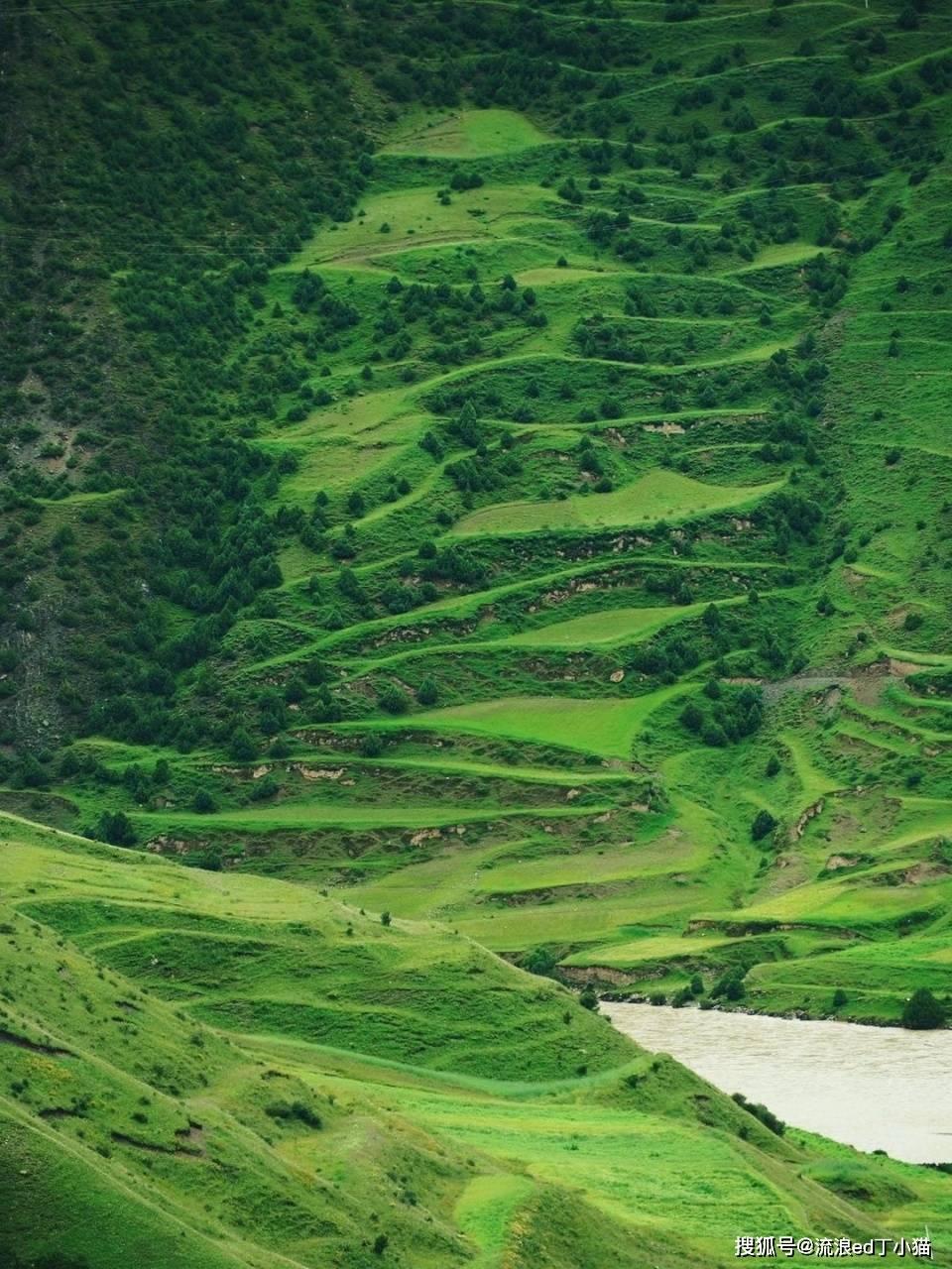 藏北高原的一个神秘峡谷,开山劈水,创
