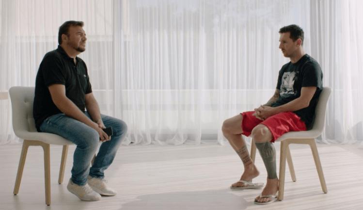梅西裸露心声:我想持续快活踢足球,但足球世界有许多虚伪的人!
