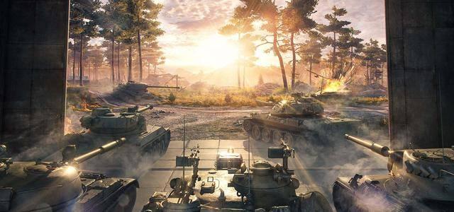 《坦克世界》10年经典变身次时代画质?几个小技巧,直呼内行
