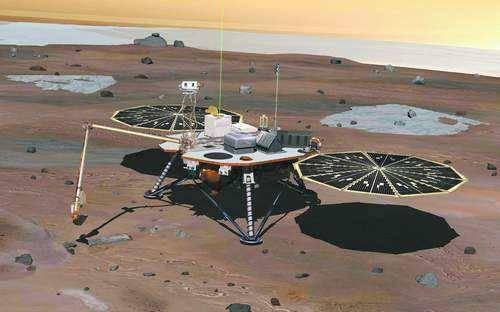 哪个国家的探测器登陆过火星