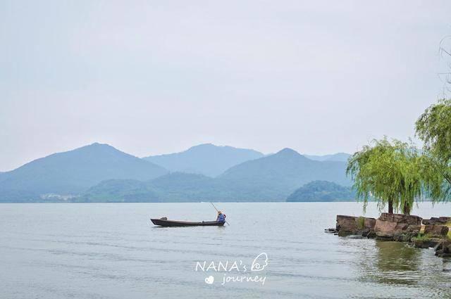 原创             宁波的这个湖泊,风景可媲美西湖,烟雨长堤深藏不少古迹