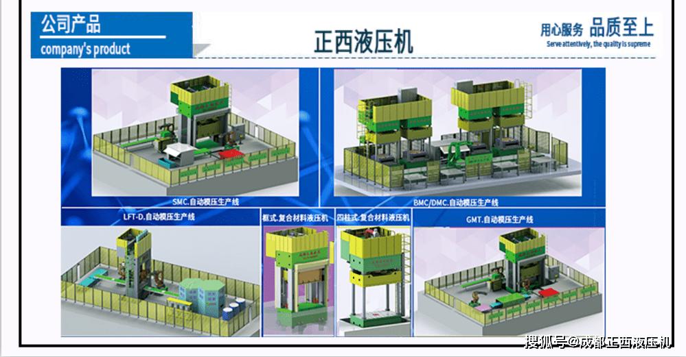 【四柱液压机制造商】生产框架式复合液压机的过程是巨大的