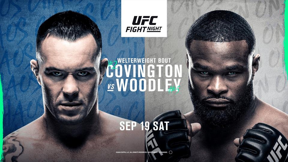 UFC格斗之夜178预告 卡温顿和伍德利将上演宿命之战