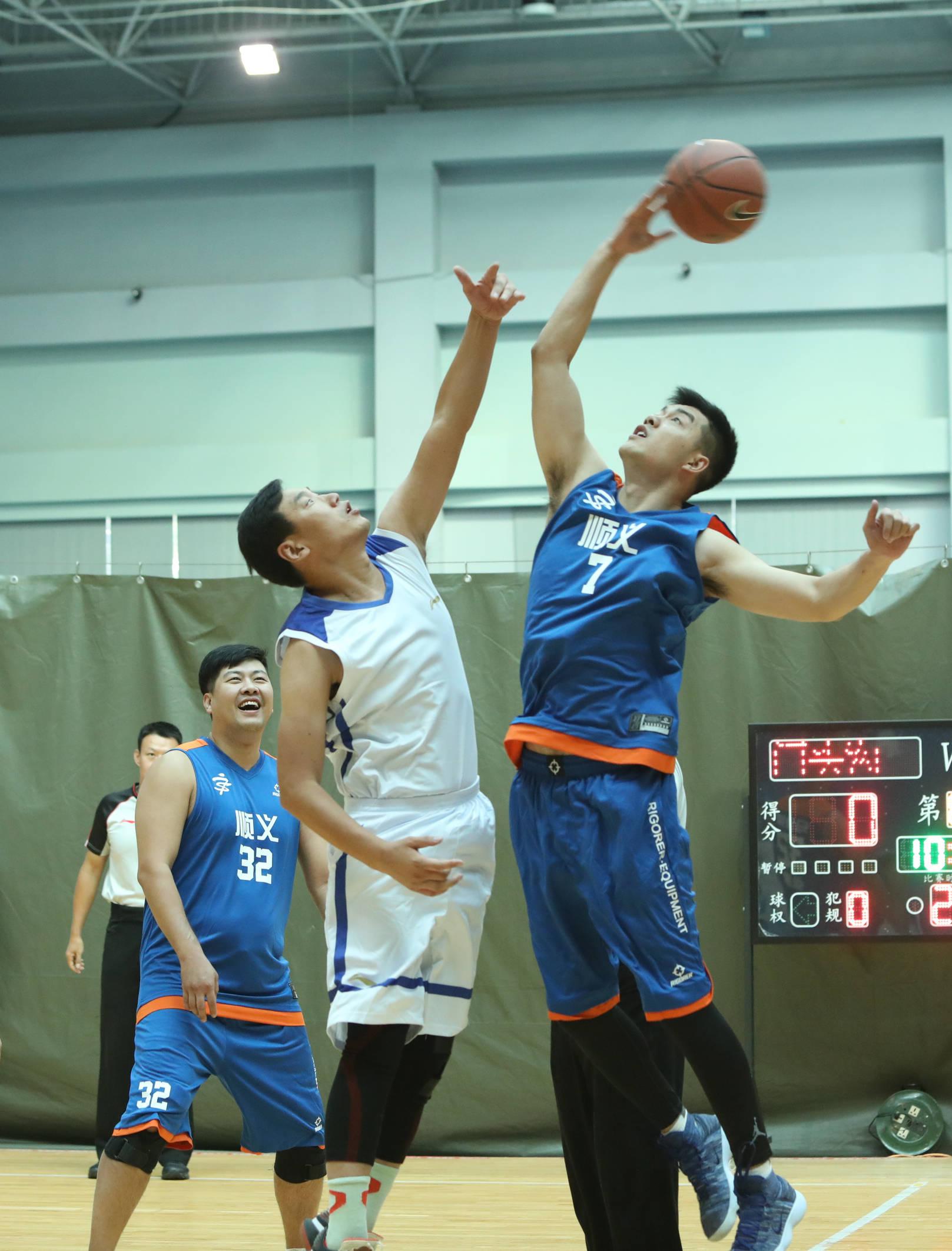 北京市农人篮球、跳绳比赛正式打响