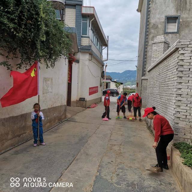 """云南保山市隆阳区金鸡社区""""双管齐下""""抓实爱国卫生运动"""